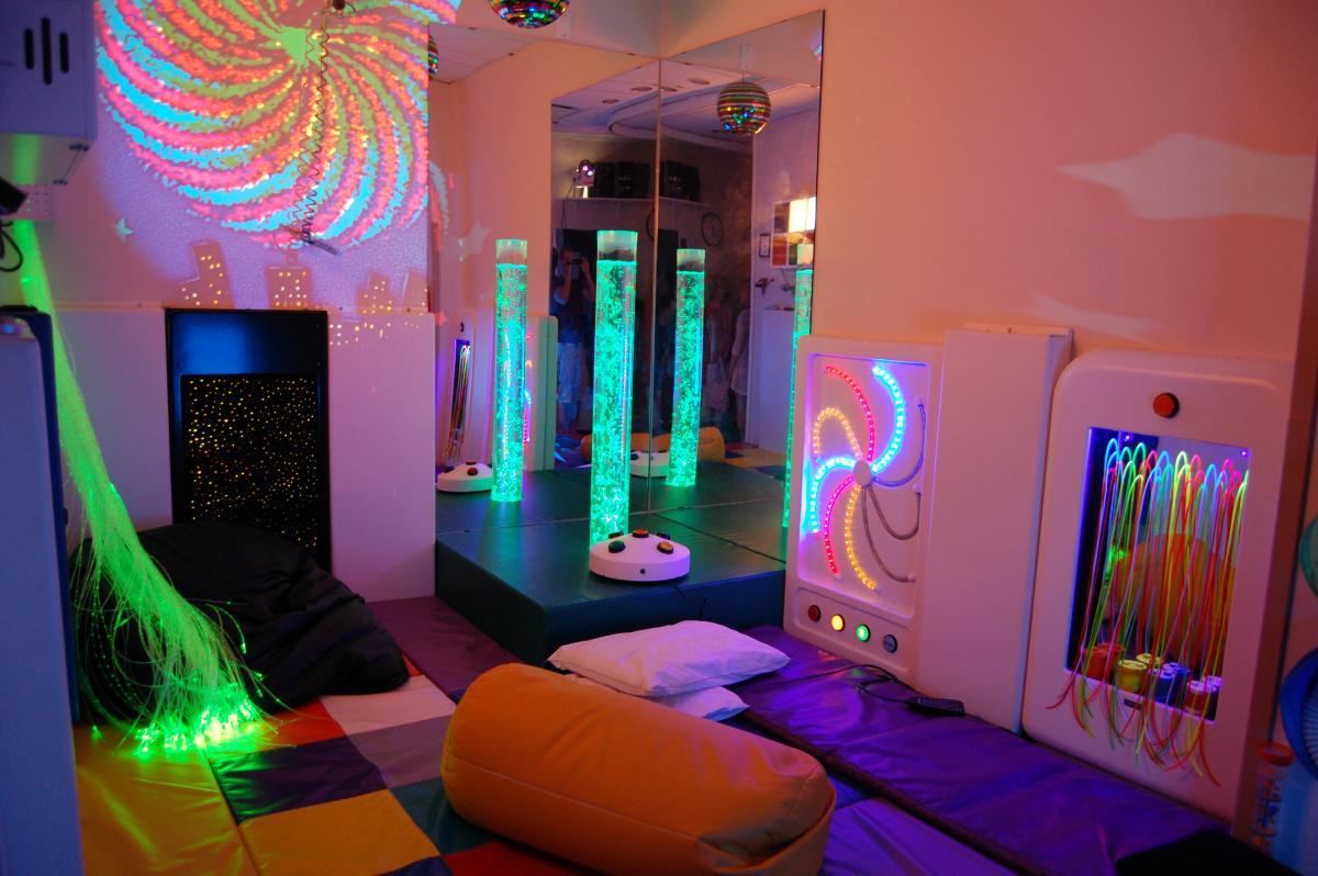 Оборудование для сенсорной комнаты