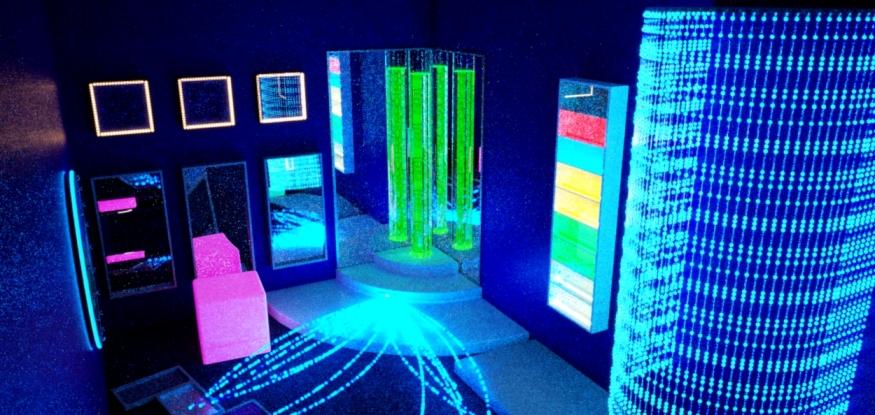 Занятия в сенсорной комнате