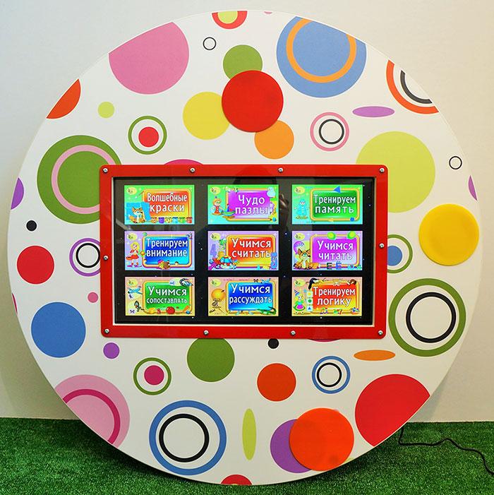 Детский Терминал Интерактивный Сенсорный настенный